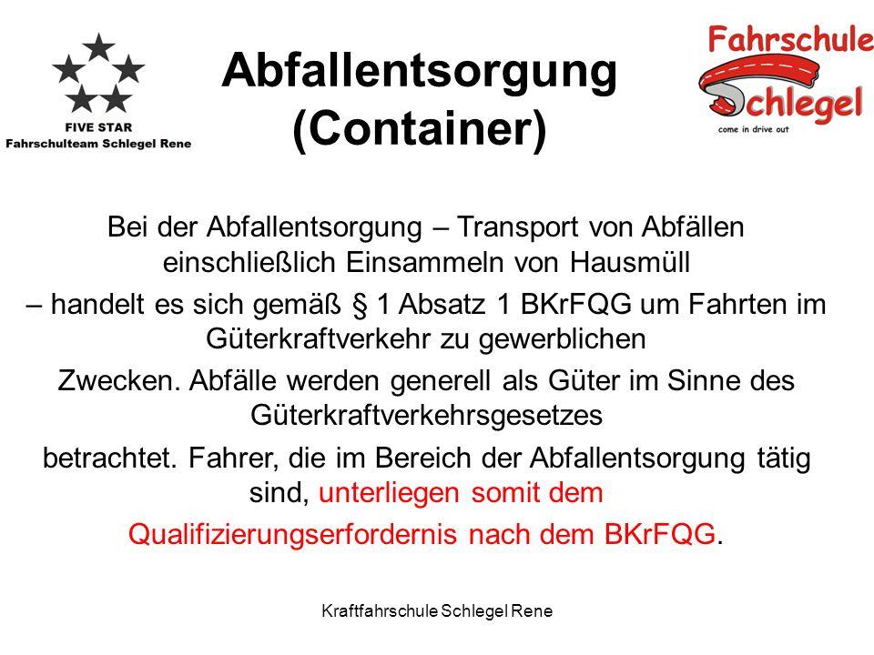 Abfallentsorgung (Container)