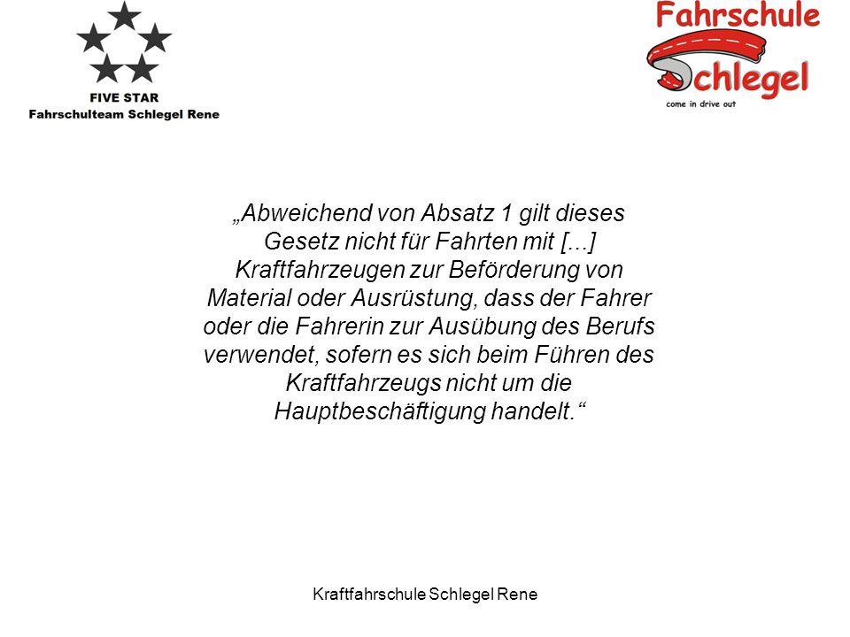 Kraftfahrschule Schlegel Rene