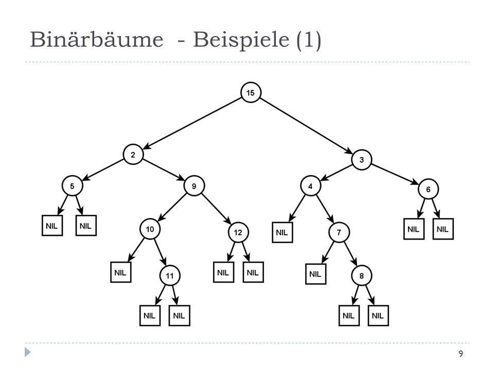Binärbäume - Beispiele (1)