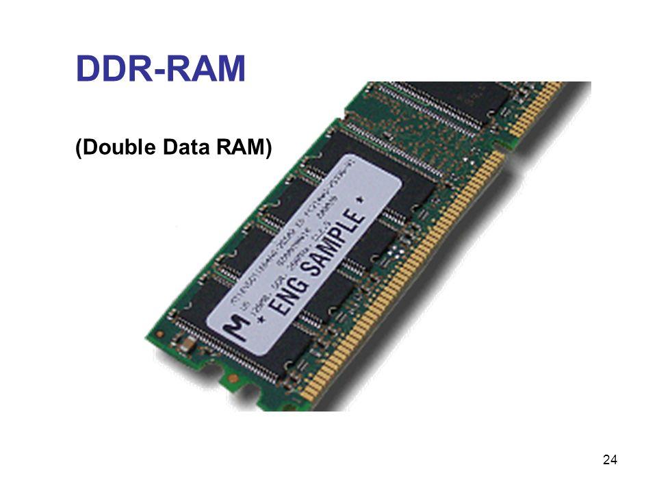 DDR-RAM (Double Data RAM)