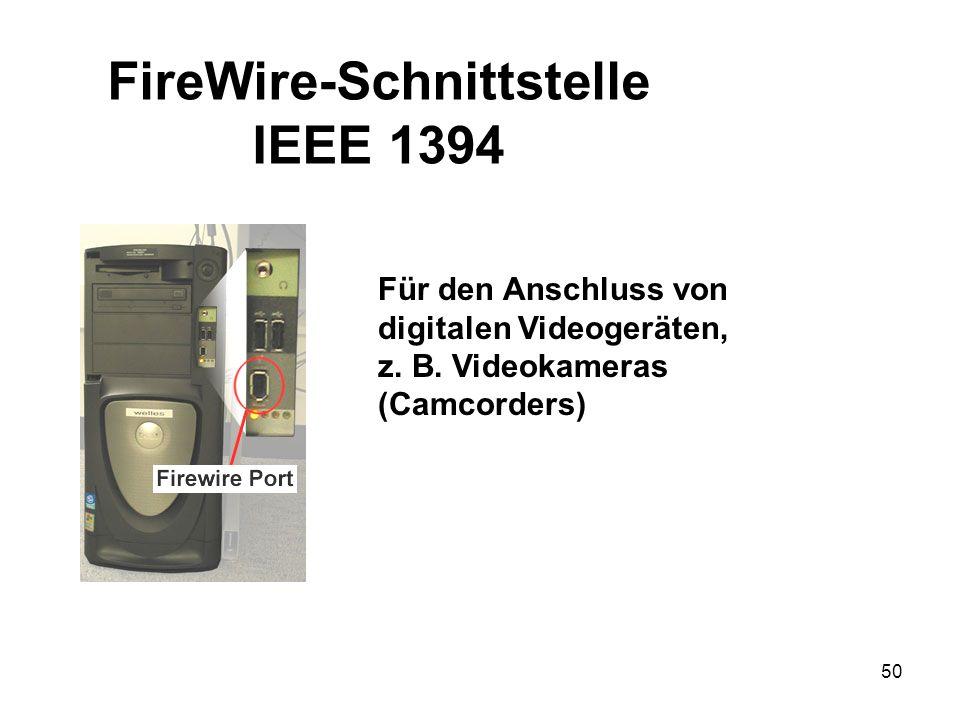 FireWire-Schnittstelle