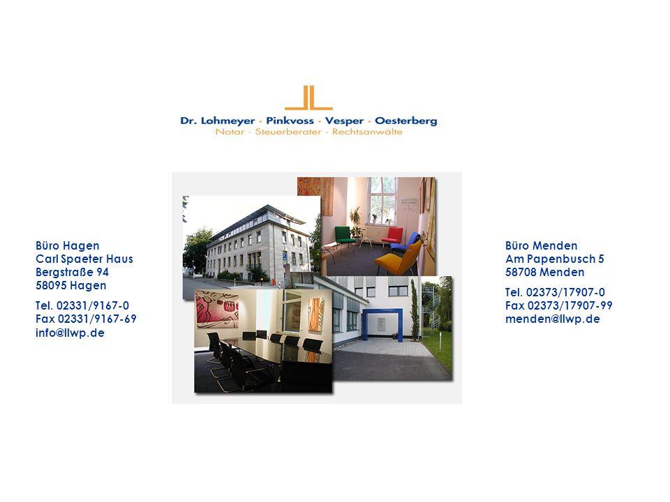 Büro Hagen Carl Spaeter Haus Bergstraße 94 58095 Hagen