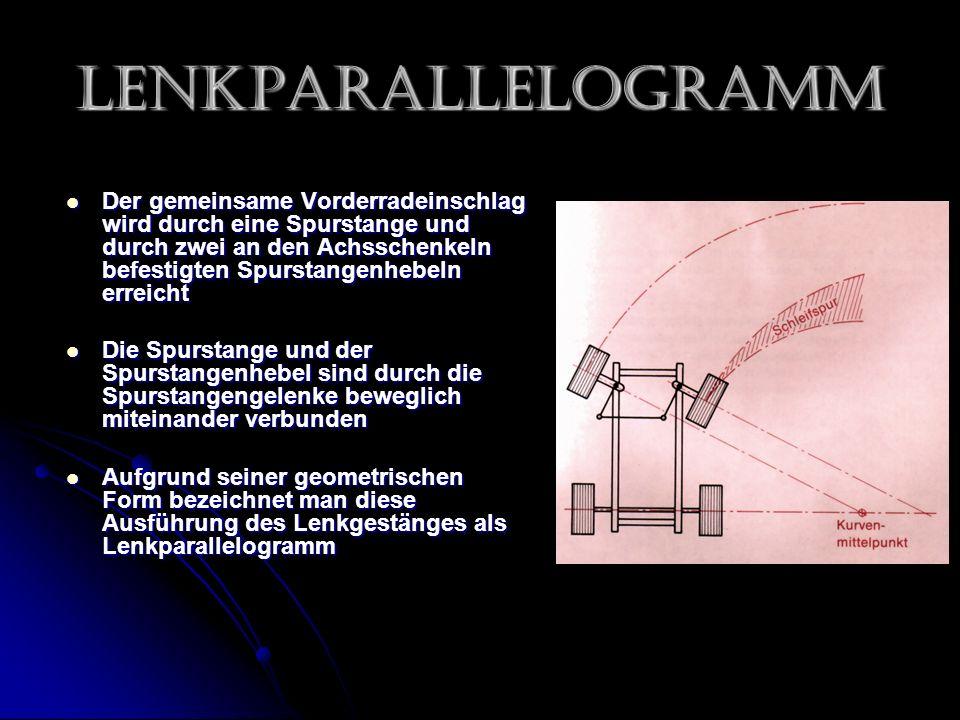 Lenkparallelogramm