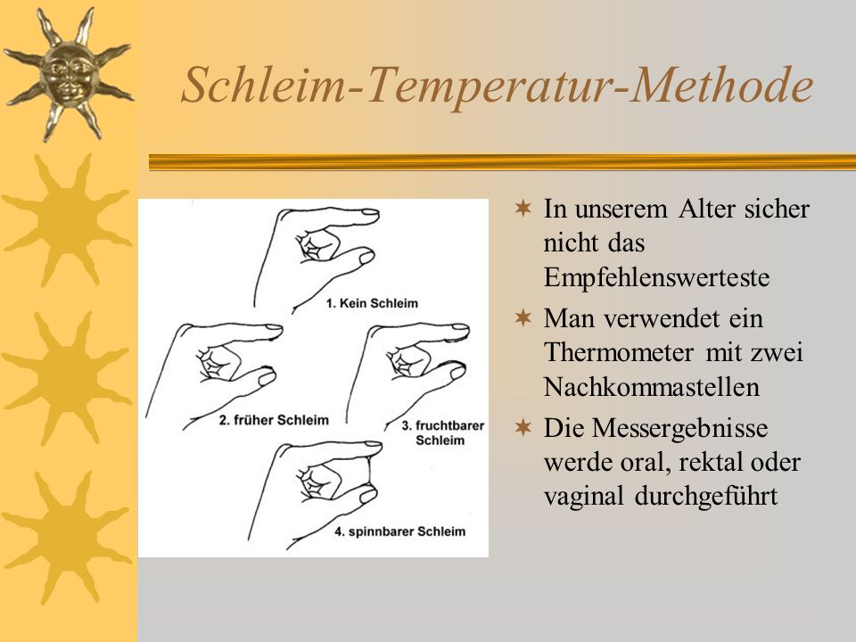 Schleim-Temperatur-Methode