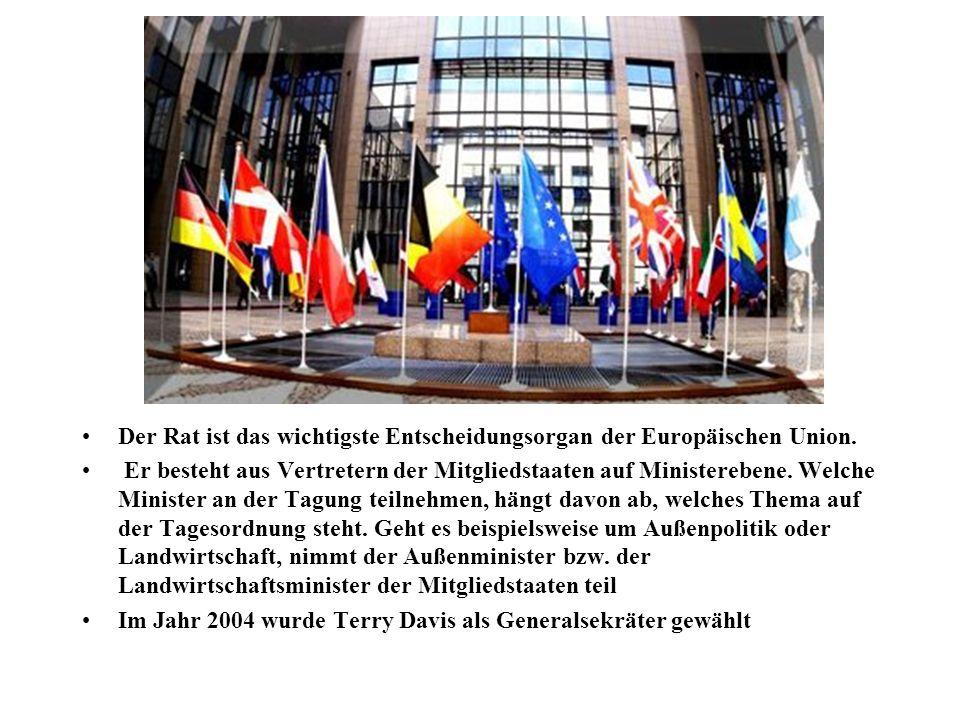 Der Rat ist das wichtigste Entscheidungsorgan der Europäischen Union.
