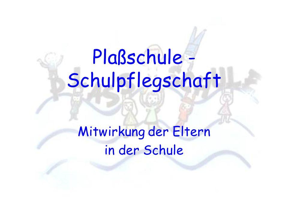 Plaßschule - Schulpflegschaft
