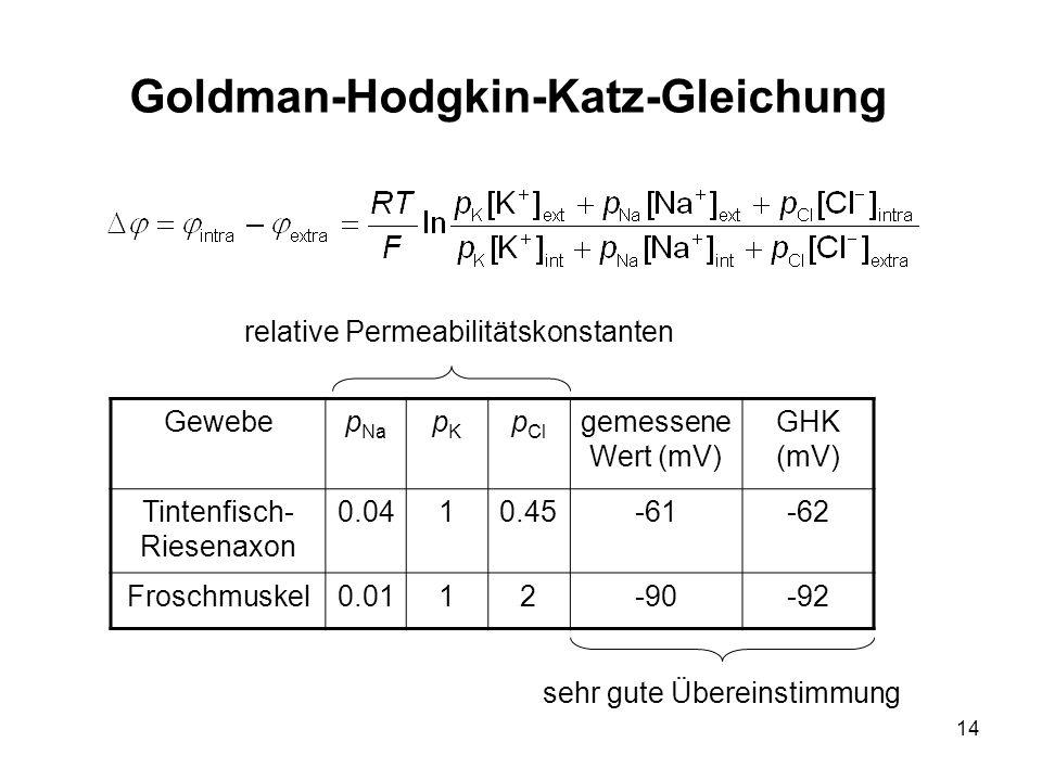 Goldman-Hodgkin-Katz-Gleichung