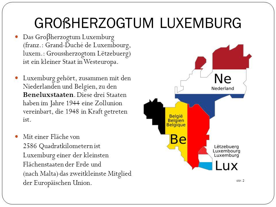 GROßHERZOGTUM LUXEMBURG