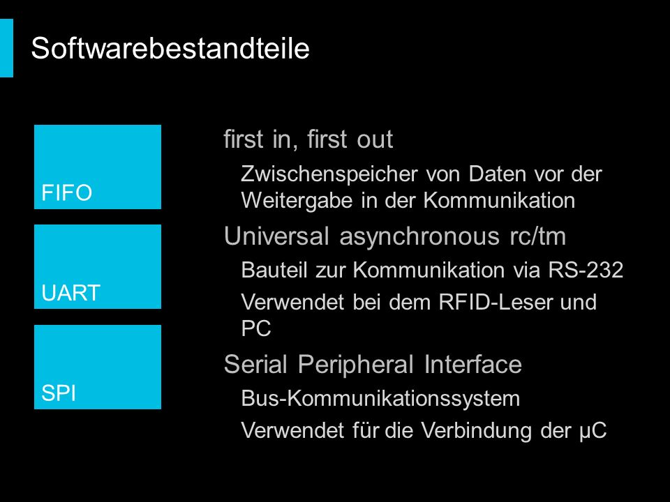 Softwarebestandteile