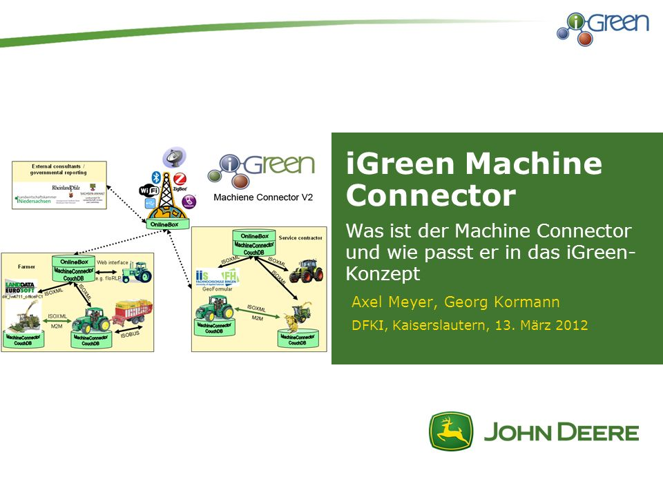 iGreen Machine Connector