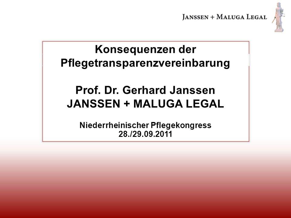 Niederrheinischer Pflegekongress 28./29.09.2011