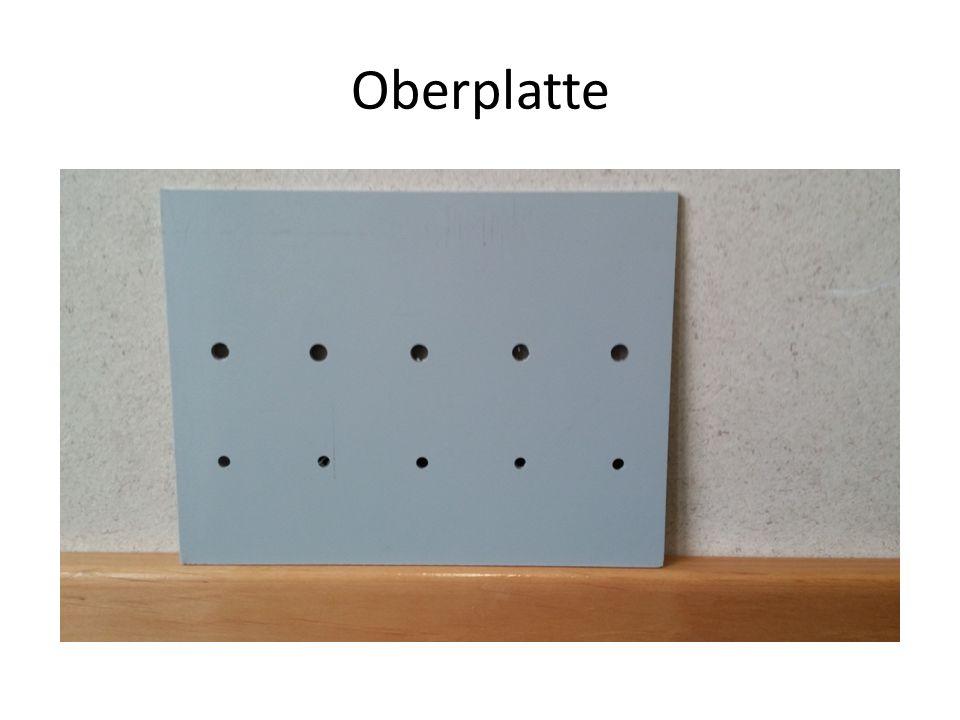 Oberplatte