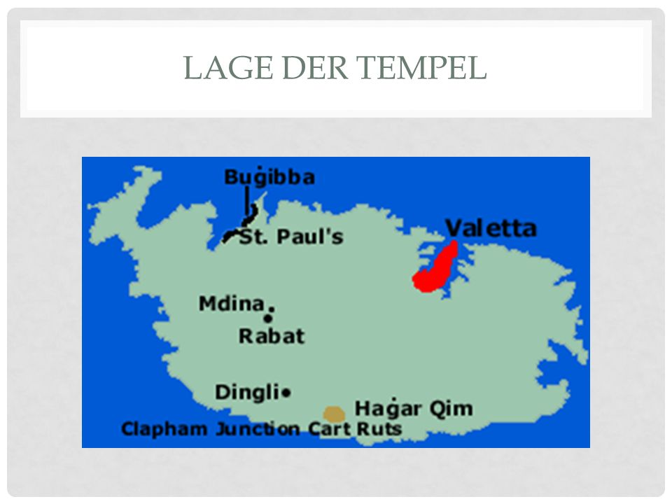 Lage Der Tempel