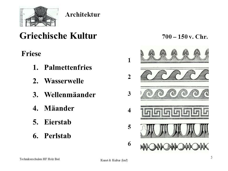 Griechische Kultur 700 – 150 v. Chr.