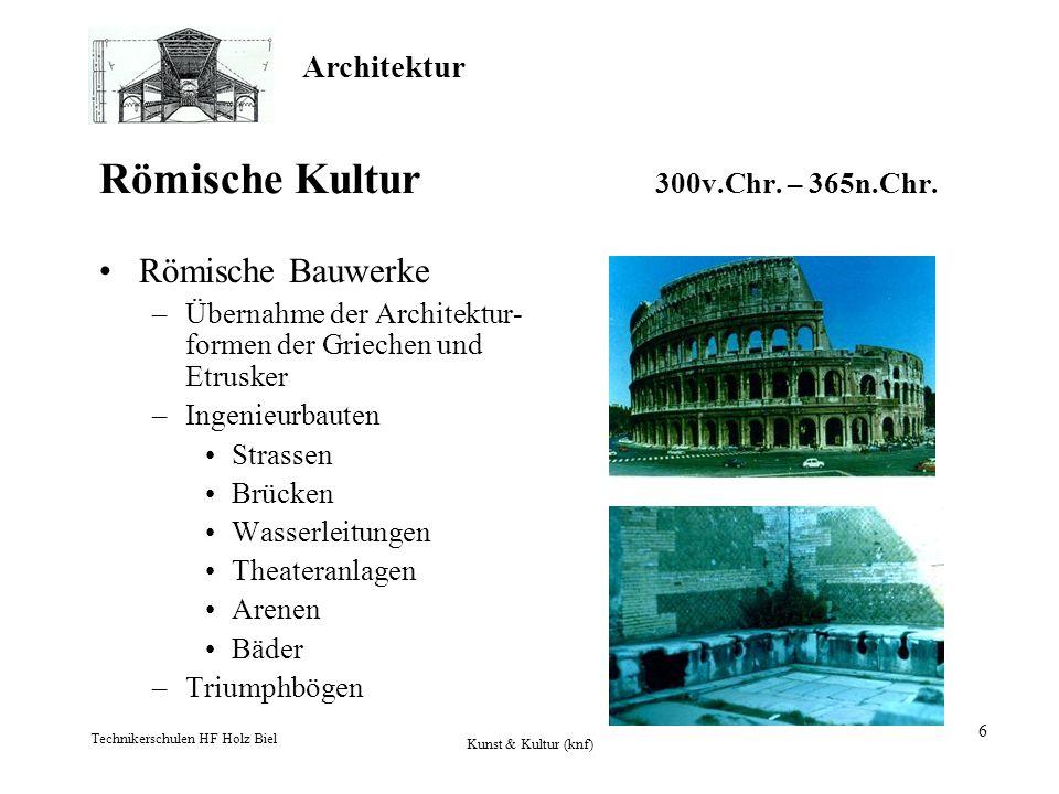 Römische Kultur 300v.Chr. – 365n.Chr.