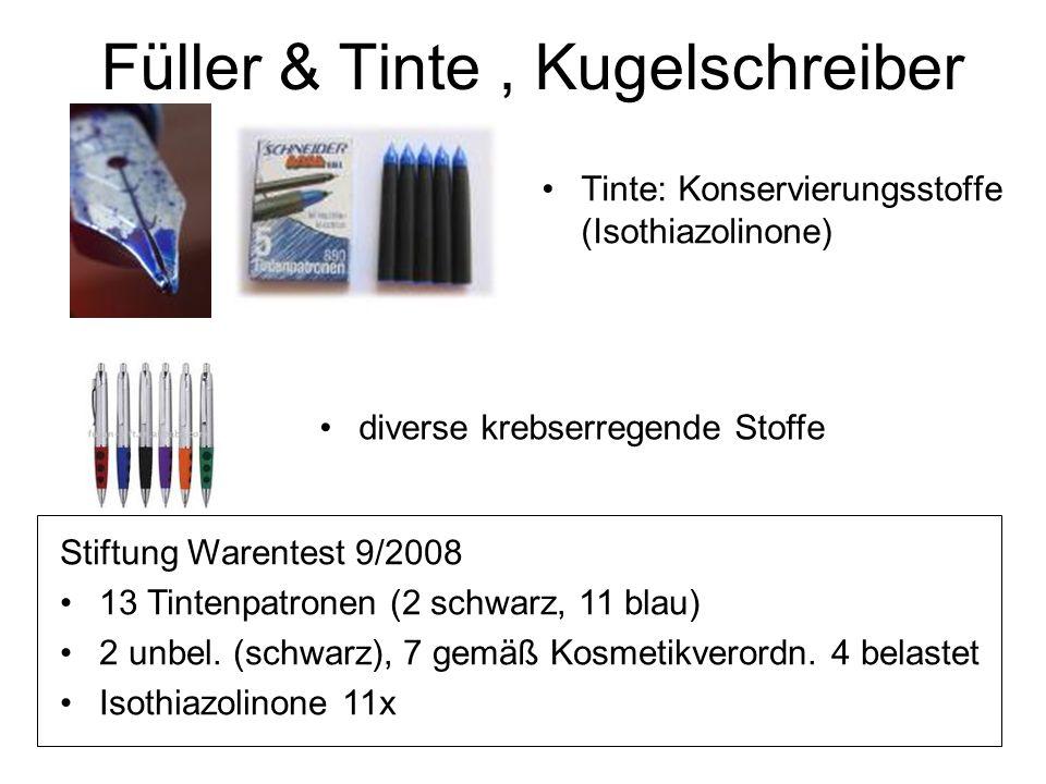 Füller & Tinte , Kugelschreiber