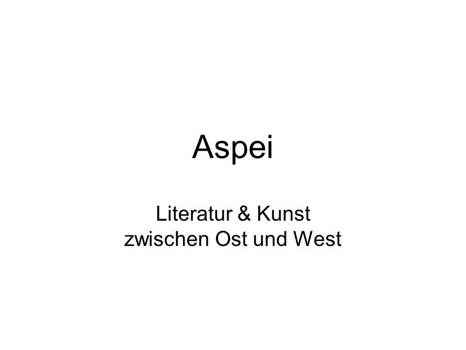 Literatur & Kunst zwischen Ost und West