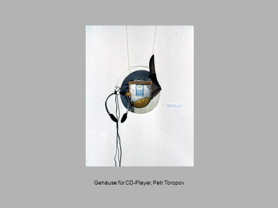 Gehäuse für CD-Player, Petr Toropov