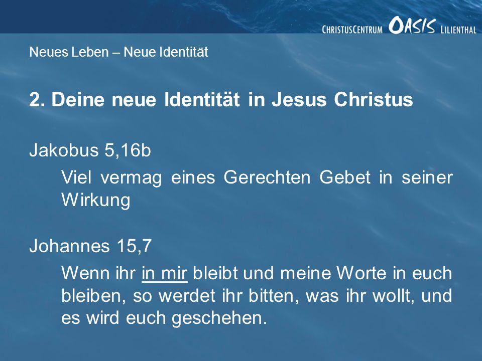 Neues Leben – Neue Identität