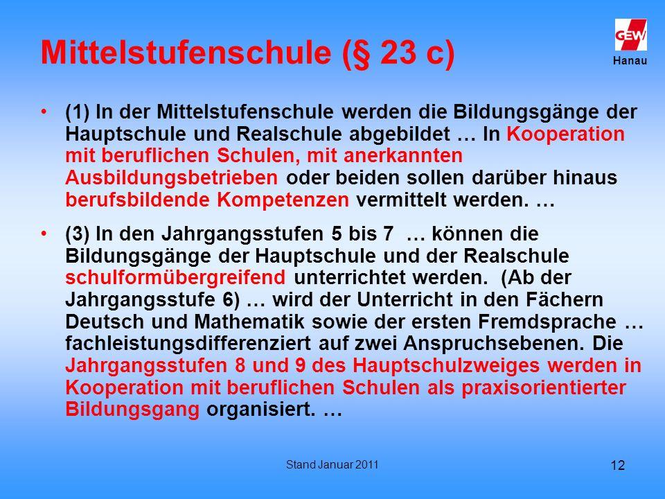 Mittelstufenschule (§ 23 c)