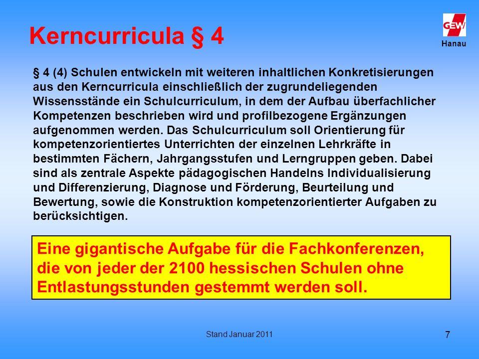Kerncurricula § 4