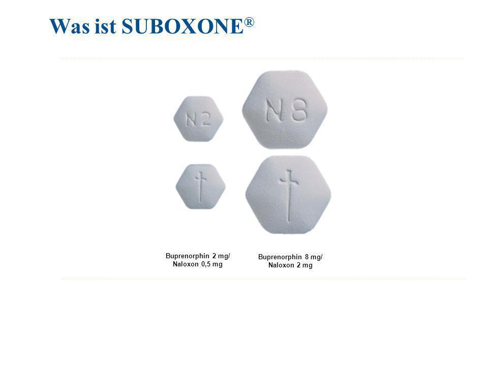 Was ist SUBOXONE® Buprenorphin 2 mg/ Buprenorphin 8 mg/ Naloxon 0,5 mg