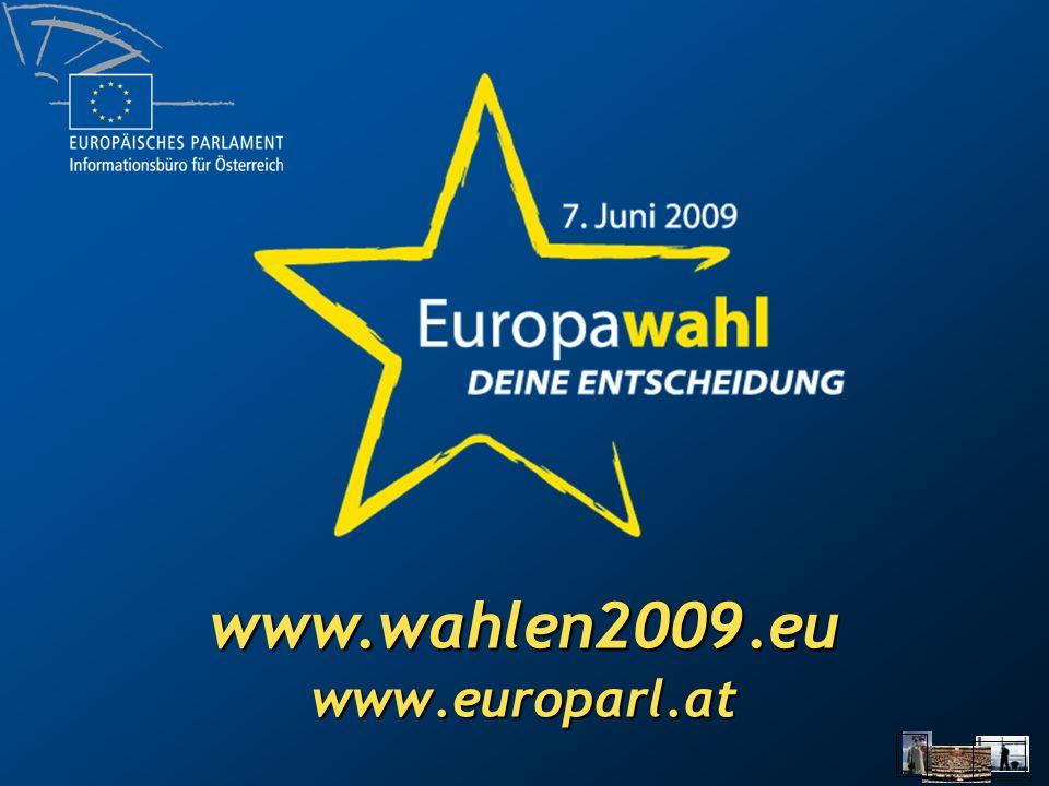www.wahlen2009.eu www.europarl.at