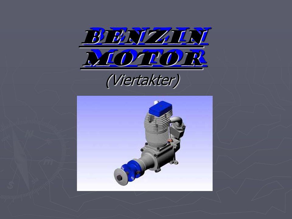Benzin motor (Viertakter)