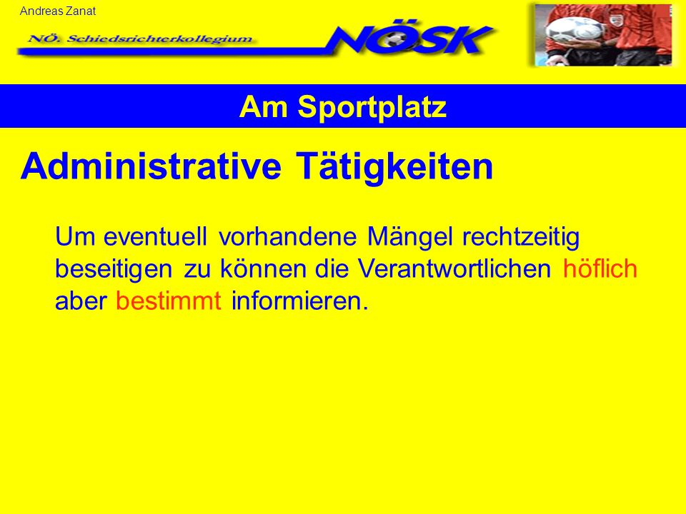 Administrative Tätigkeiten