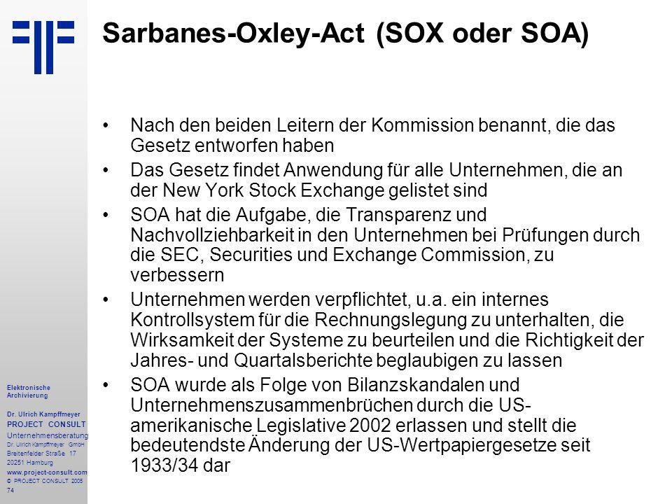 the sarbane oxley act soa essay