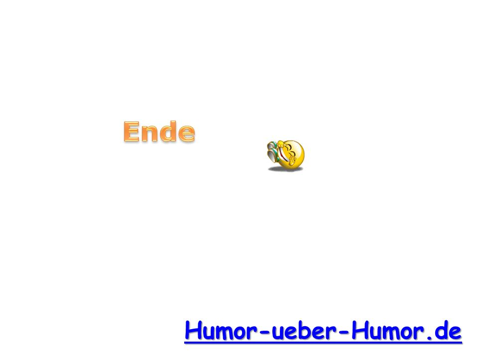 e Ende e Humor-ueber-Humor.de
