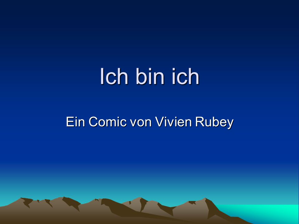 Ein Comic von Vivien Rubey