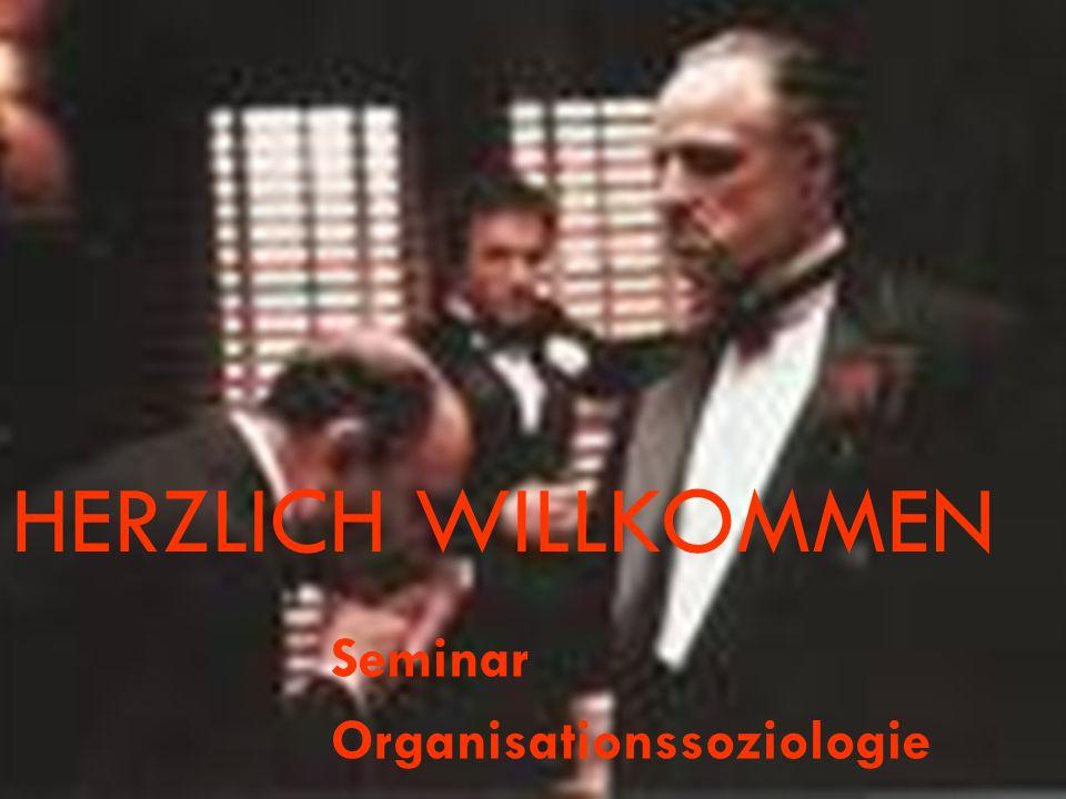 Seminar Organisationssoziologie