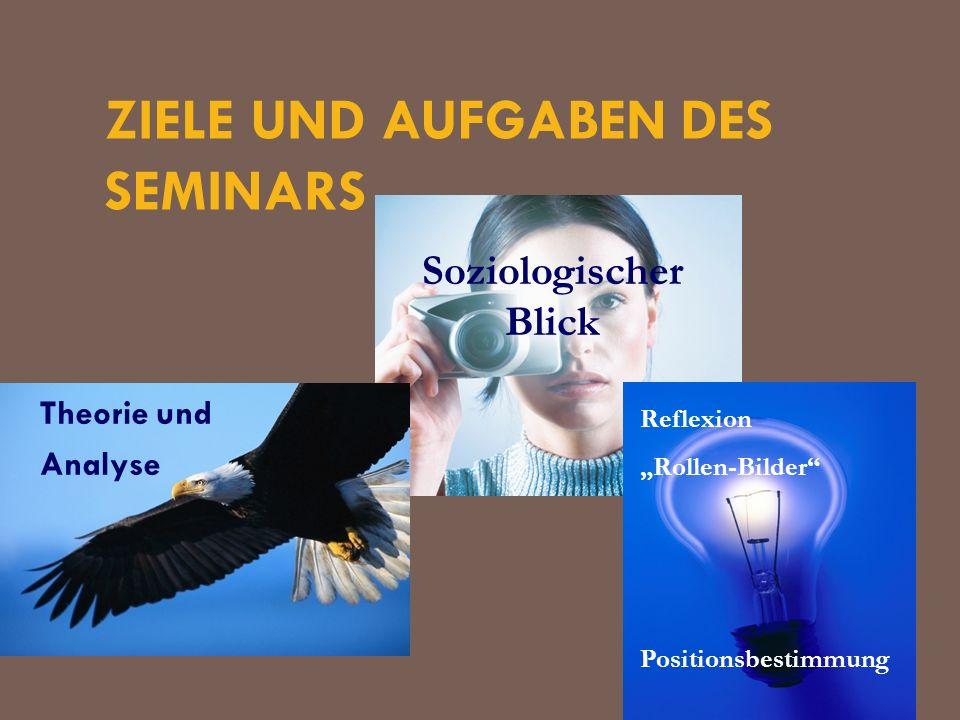 Ziele und Aufgaben des Seminars