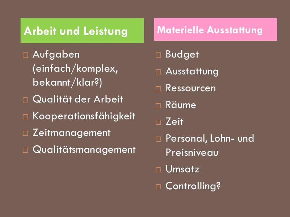 Arbeit und Leistung Aufgaben (einfach/komplex, bekannt/klar )