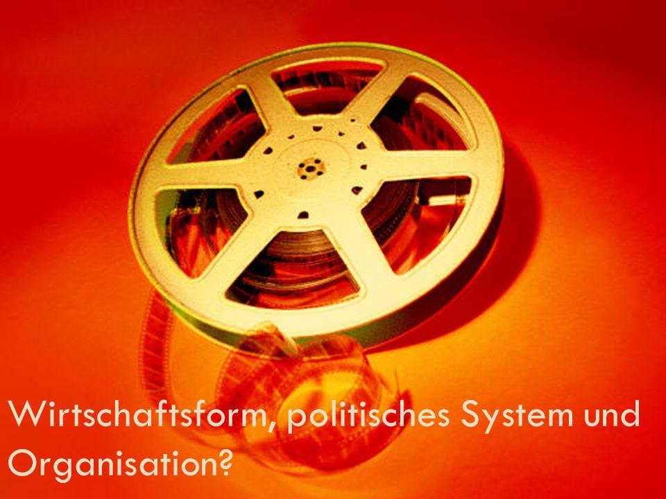 Wirtschaftsform, politisches System und Organisation