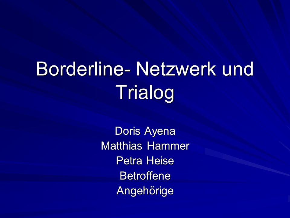 Borderline- Netzwerk und Trialog