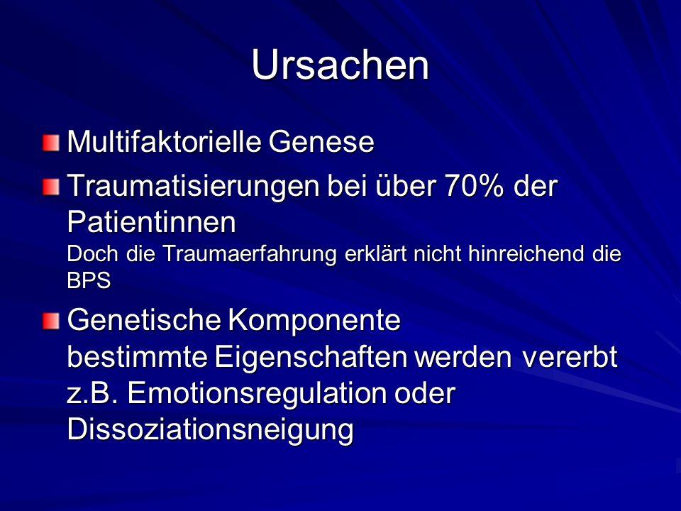 Ursachen Multifaktorielle Genese