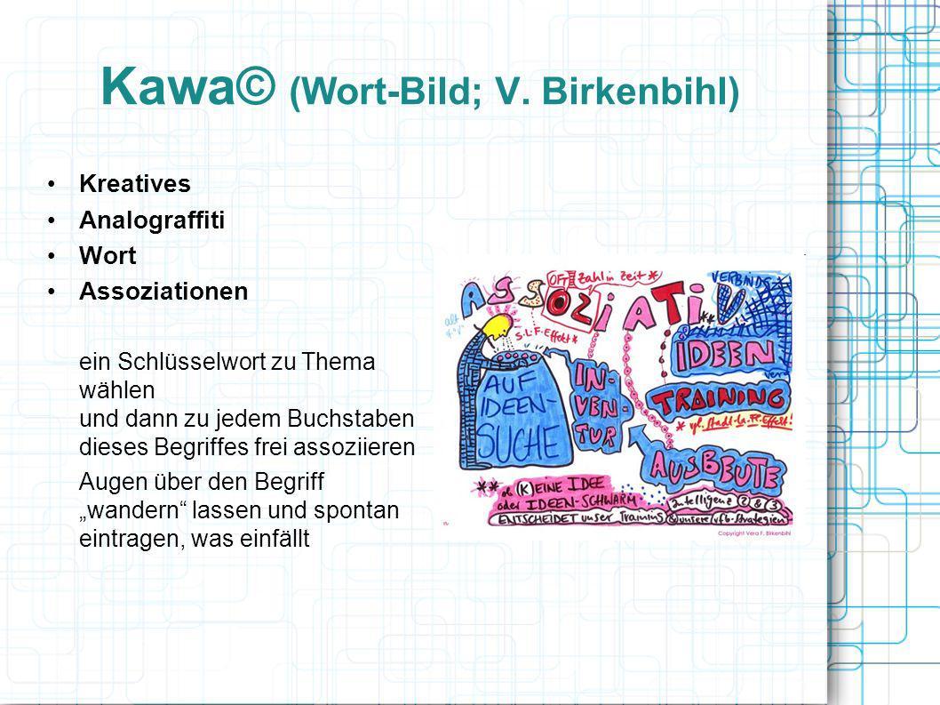 Kawa© (Wort-Bild; V. Birkenbihl)