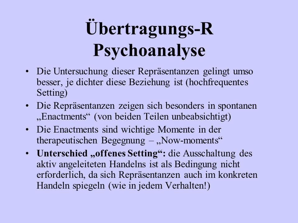 Übertragungs-R Psychoanalyse