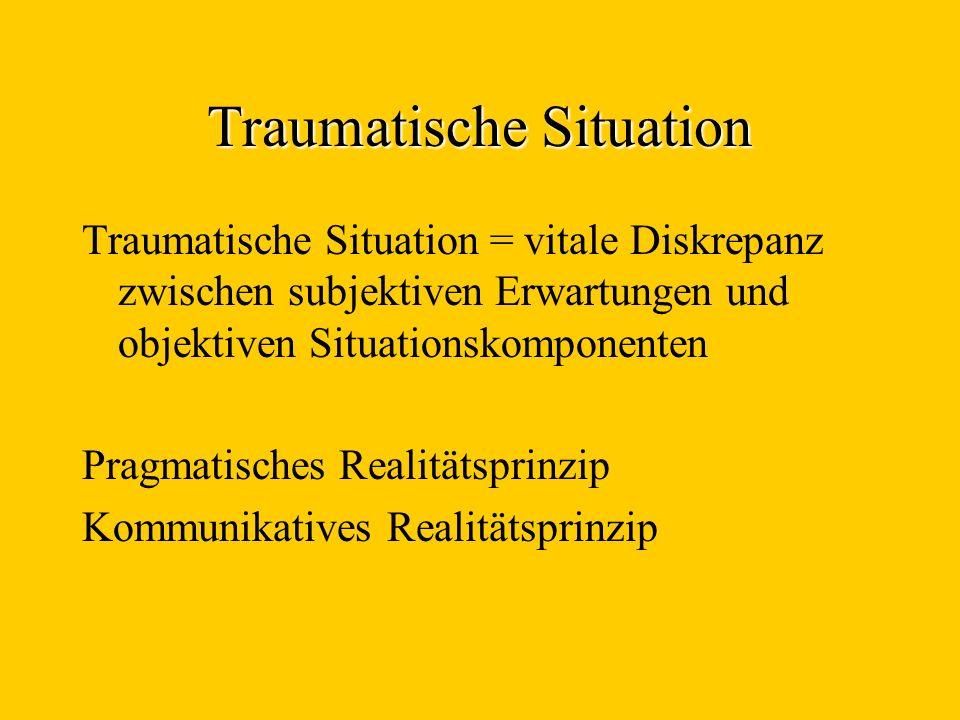 Traumatische Situation