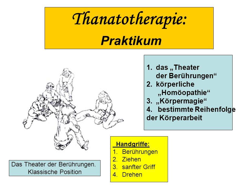 Das Theater der Berührungen.