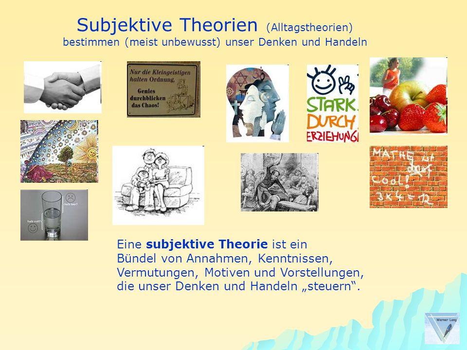 Subjektive Theorien (Alltagstheorien)
