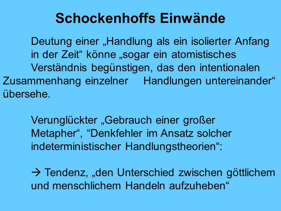 Schockenhoffs Einwände