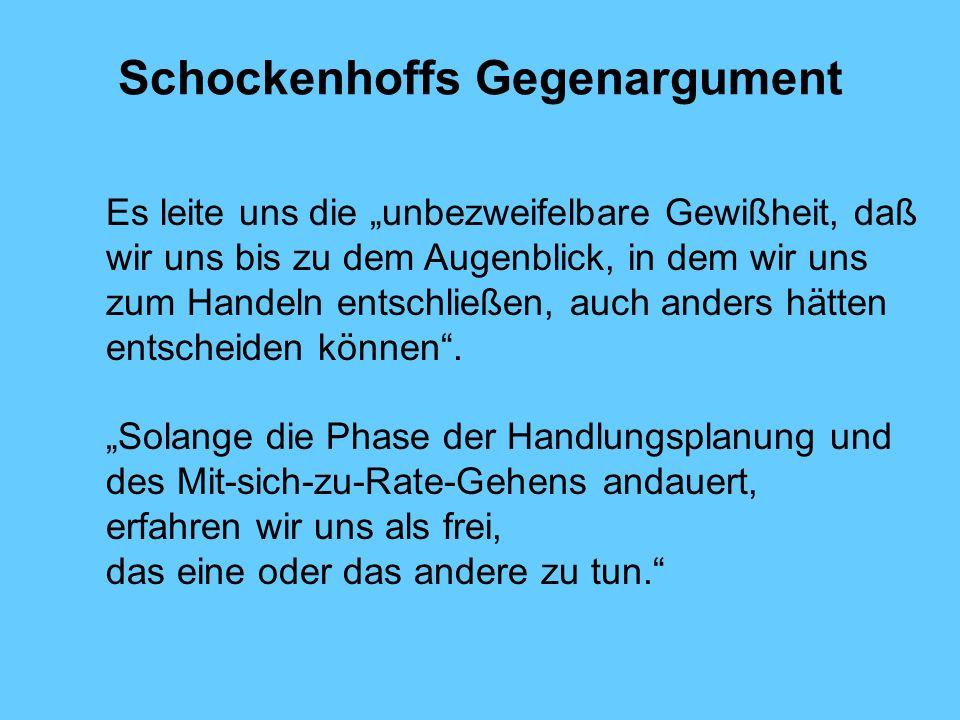 Schockenhoffs Gegenargument