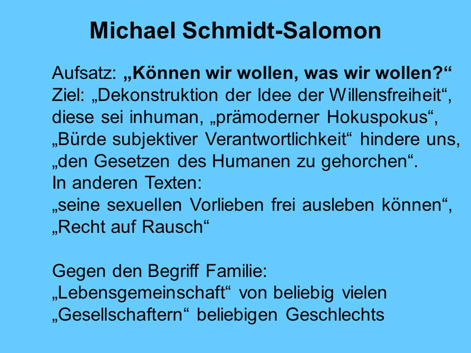 Michael Schmidt-Salomon