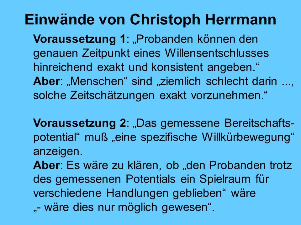 Einwände von Christoph Herrmann