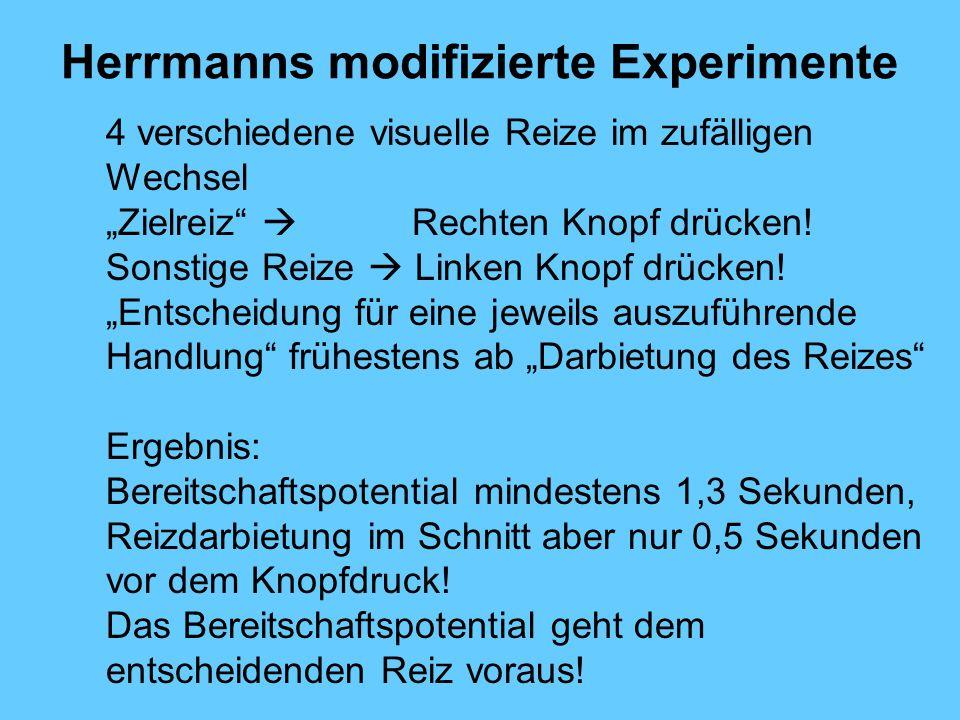 Herrmanns modifizierte Experimente