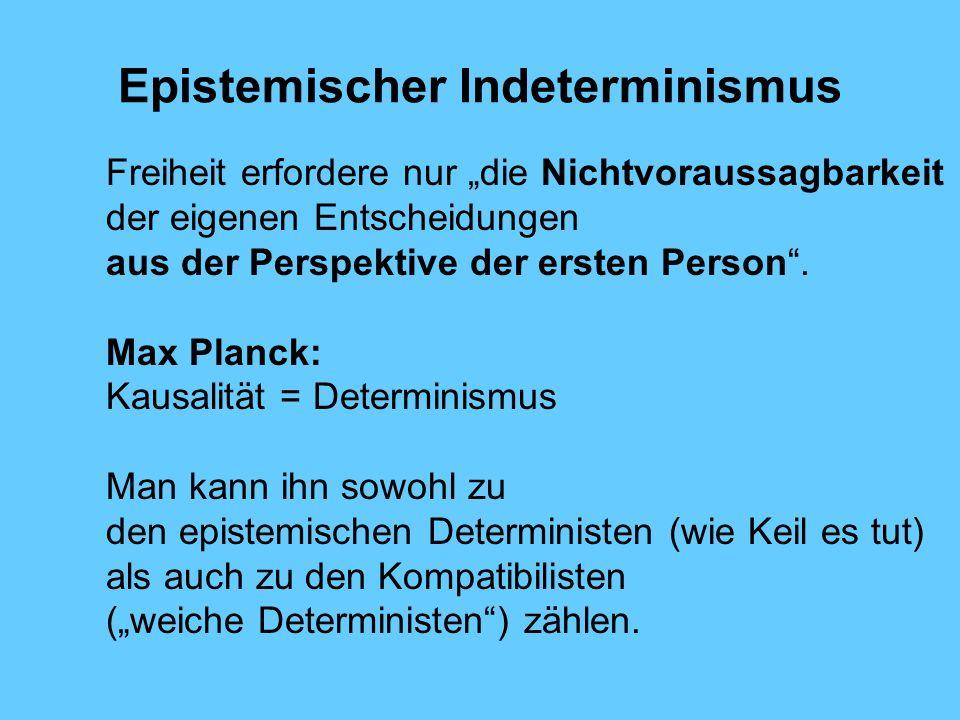 Epistemischer Indeterminismus