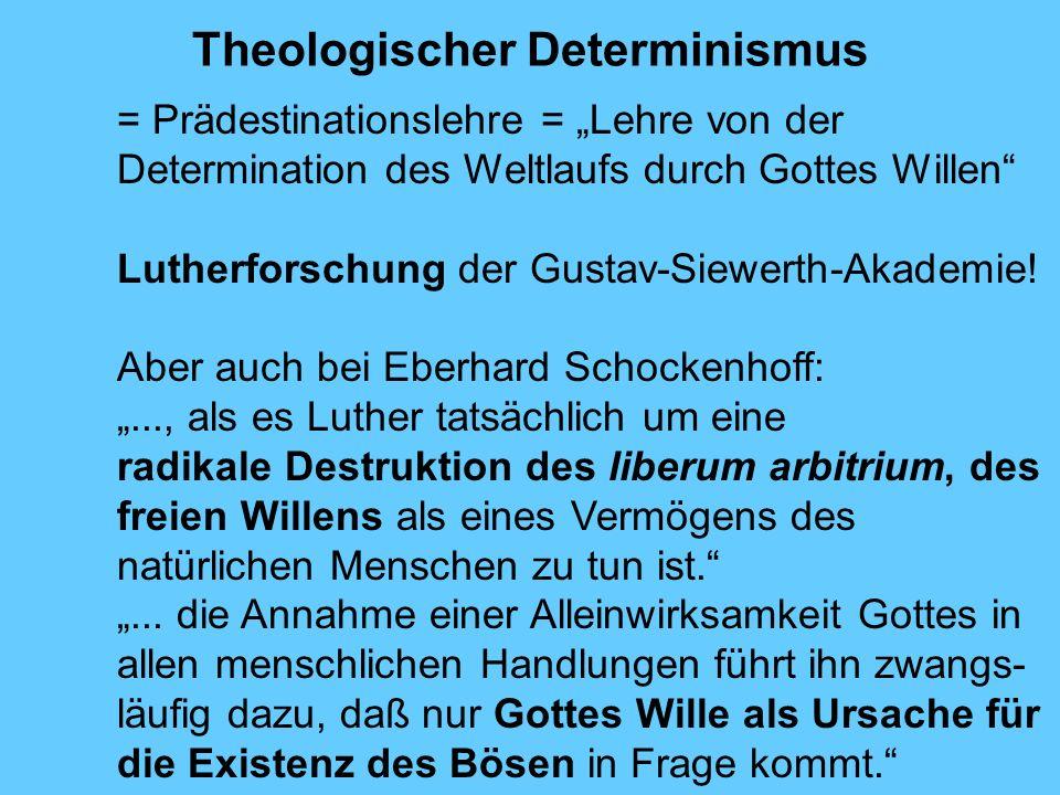 Theologischer Determinismus